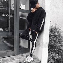dsrcv Stripes Street Style Plain Cotton Joggers & Sweatpants