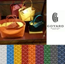 GOYARD 2WAY Leather Office Style Totes