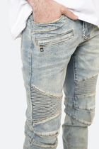 MNML More Jeans Tapered Pants Street Style Plain Cotton Jeans 14