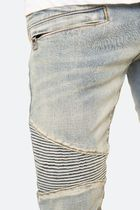 MNML More Jeans Tapered Pants Street Style Plain Cotton Jeans 15