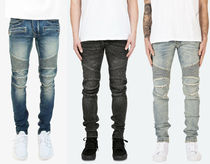 MNML Tapered Pants Street Style Plain Cotton Jeans & Denim