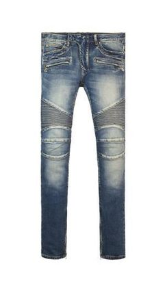 MNML More Jeans Tapered Pants Street Style Plain Cotton Jeans 2