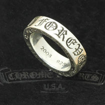CHROME HEARTS Unisex Silver Rings