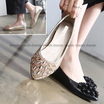 Plain Party Style Slip-On Shoes