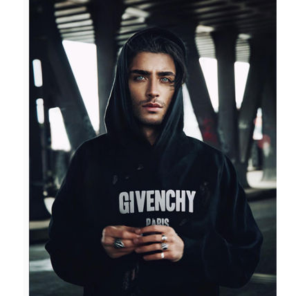 GIVENCHY Pullovers Street Style Long Sleeves Cotton Hoodies