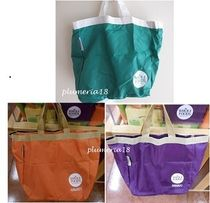 WHOLE FOODS MARKET Casual Style Nylon Bag in Bag Plain Shoppers
