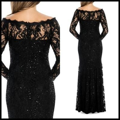 Decode 1.8 Dresses Flower Patterns Maxi Boat Neck Long Sleeves Long Lace 2