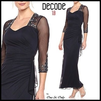 Decode 1.8 Dresses Maxi Cropped Plain Long Dresses