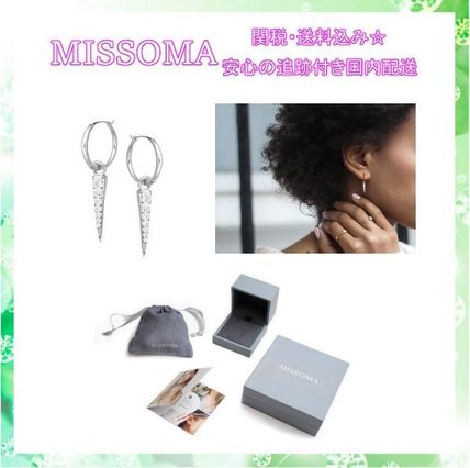 ... MISSOMA Earrings u0026 Piercings Costume Jewelry Home Party Ideas Silver Elegant Style ... & MISSOMA Costume Jewelry Home Party Ideas Silver Elegant Style by ...