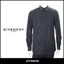 GIVENCHY Star Street Style Long Sleeves Cotton Shirts