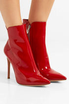 Gianvito Rossi Enamel Ankle & Booties Boots