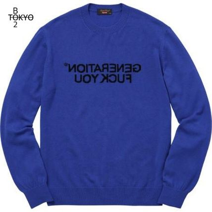 Supreme Knits & Sweaters Street Style Collaboration Long Sleeves Knits & Sweaters
