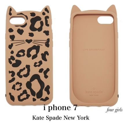 kate spade new york Leopard Patterns Other Animal Patterns Silicon