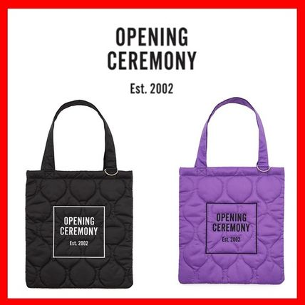OPENING CEREMONY Casual Style Unisex Totes