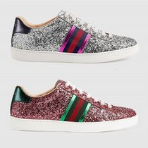 GUCCI Street Style Leather Elegant Style Low-Top Sneakers