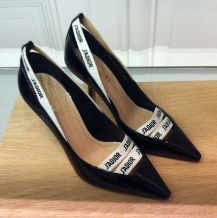 Christian Dior Leather High Heel Pumps & Mules