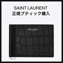 Saint Laurent Blended Fabrics Other Animal Patterns Leather Python