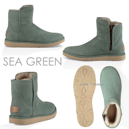 UGG Australia Ankle & Booties Plain Toe Casual Style Sheepskin Plain Ankle & Booties Boots 7