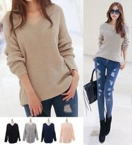 Long Sleeves Oversized Sweaters