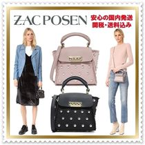 ZAC ZAC POSEN Casual Style 2WAY Plain Shoulder Bags