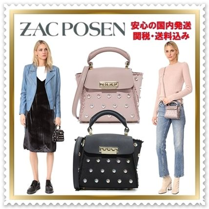 Casual Style 2WAY Plain Shoulder Bags