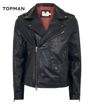 TOPMAN Street Style Leather Biker Jackets