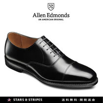 Allen Edmonds Straight Tip Plain Leather Handmade Oxfords