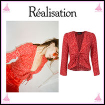 Realisation Par Star Casual Style Long Sleeves Shirts & Blouses