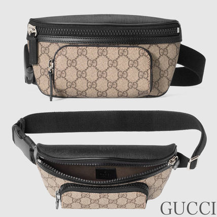 GUCCI Monoglam Cambus Blended Fabrics Hip Packs
