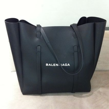 BALENCIAGA A4 Leather Totes