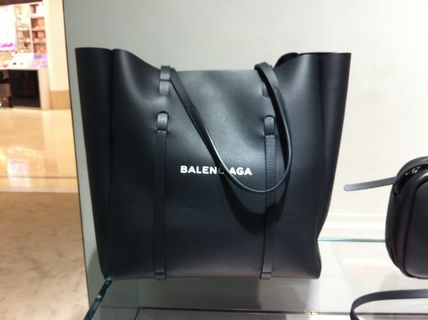 BALENCIAGA Totes Unisex Leather Totes 4
