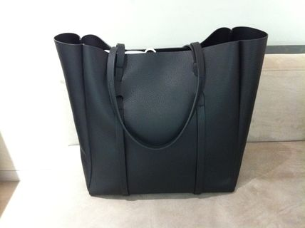 BALENCIAGA Totes Unisex Leather Totes 5