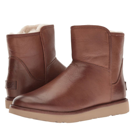 UGG Australia Ankle & Booties Plain Leather Ankle & Booties Boots 5