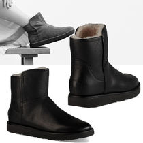 UGG Australia ABREE MINI Plain Leather Ankle & Booties Boots
