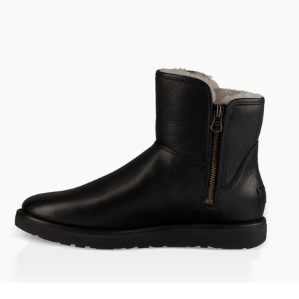 UGG Australia Ankle & Booties Plain Leather Ankle & Booties Boots 4