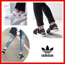 adidas ADILETTE Casual Style Street Style Sport Sandals Flat Sandals