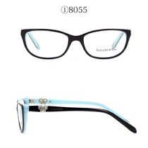 Tiffany & Co With Jewels Oval Eyeglasses
