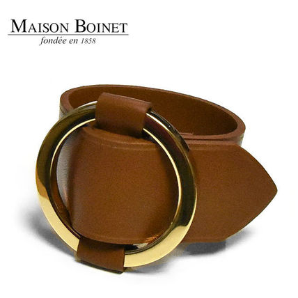 Bangles Casual Style Leather Bracelets