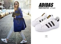 adidas SUPERSTAR Unisex Leather Sneakers