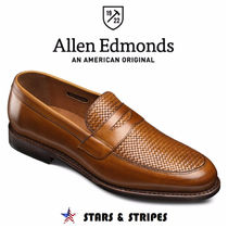 Allen Edmonds Loafers Street Style Plain Leather Handmade