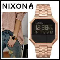Nixon Casual Style Square Stainless Digital Watches