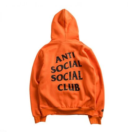 ANTI SOCIAL SOCIAL CLUB Hoodies Unisex Street Style Long Sleeves Hoodies 5