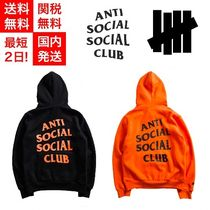 ANTI SOCIAL SOCIAL CLUB Unisex Collaboration Long Sleeves Hoodies