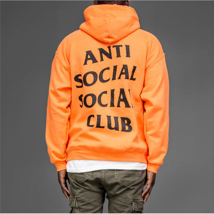 ANTI SOCIAL SOCIAL CLUB Hoodies Unisex Street Style Long Sleeves Hoodies 7