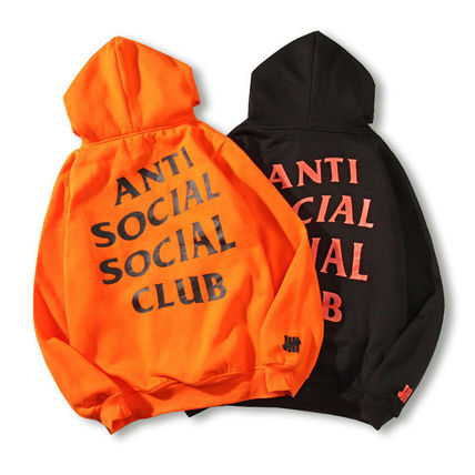 ANTI SOCIAL SOCIAL CLUB Hoodies Unisex Street Style Long Sleeves Hoodies 11