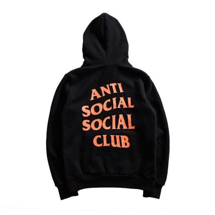 ANTI SOCIAL SOCIAL CLUB Hoodies Unisex Street Style Long Sleeves Hoodies 3