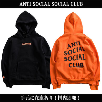 ANTI SOCIAL SOCIAL CLUB Hoodies Unisex Long Sleeves Hoodies