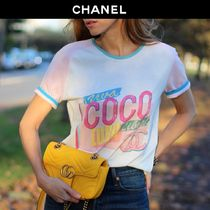 CHANEL Cotton Short Sleeves T-Shirts