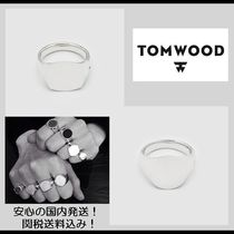 Tom Wood Plain Silver Rings