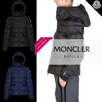 MONCLER BETULA Plain Medium Down Jackets